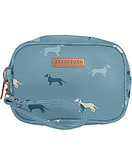 Brakeburn Sausage Dog Small Wash Bag