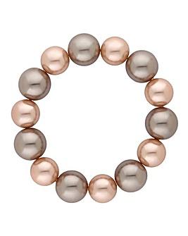 Jon Richard champagne pearl bracelet
