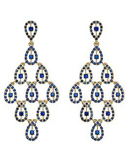 Mood oversized chandelier earring