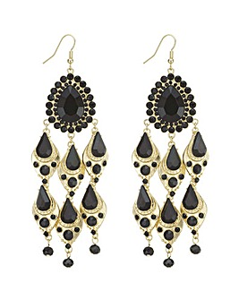 Mood peardrop chandelier earring