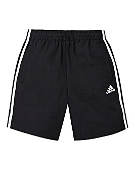 adidas Youth Boys 3 Stripe Woven Shorts