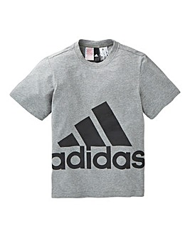 adidas Youth Boys Big Logo T-Shirt
