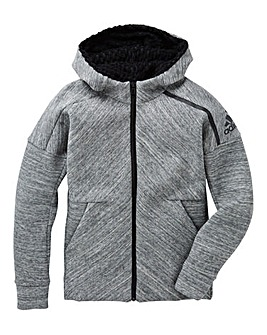 adidas Youth Girls Comfy Zone Hoodie