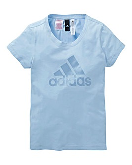 adidas Youth Girls Logo T-Shirt