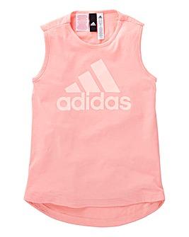 adidas Youth Girls Sleeveless T-Shirt