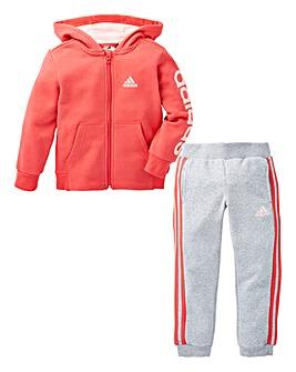adidas Girls Little Kids Hojo Tracksuit