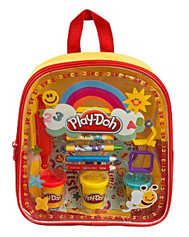Play-Doh Activity Backpack Yellow