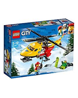 LEGO City GV Ambulance Helicopter