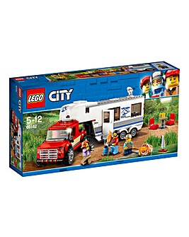 LEGO City GV Pickup & Caravan