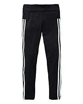 adidas Youth Girls 3 Stripe Tights