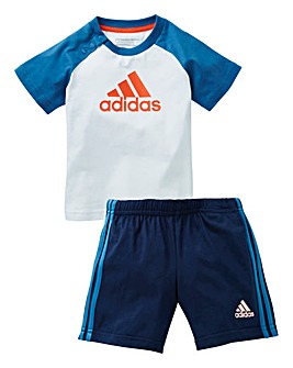 adidas Boys Infant Summer Set