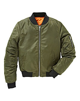 KD Girls Khaki Bomber Jacket