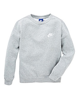 Nike Older Boys Crew Neck Fleece Sweat