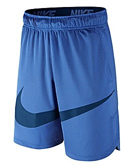 Nike Older Boys Blue Vent Swoosh Shorts