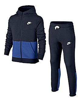 Nike Older Boys Fleece Tracksuit
