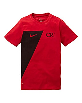 Nike Older Boys Dry Fit Ronaldo T-Shirt