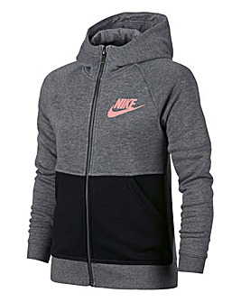 Nike Older Girls Comfort Full Zip Hoodie