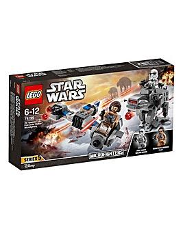 LEGO Star Wars Ski Speeder vs Walker