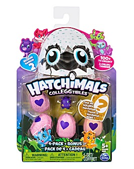 Hatchimals Colleggtibles 4 Pack & Bonus