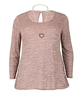 emily Necklace Jumper Top