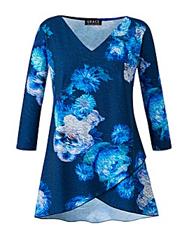 Grace Made in Britain floral tunic