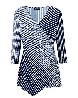 Grace Made in Britain stripe tunic