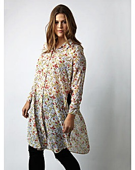 Koko Floral Long Shirt