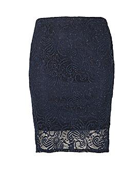 Samya Knee Length Skirt
