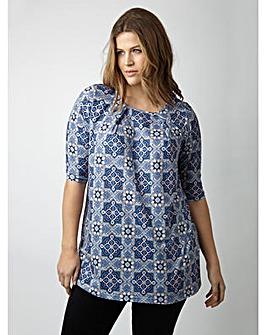 Koko Tile Print Tunic