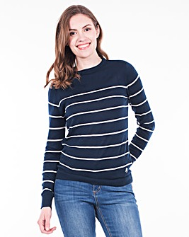 Brakeburn Stripe Knitted Jumper