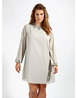 Lovedrobe Luxe Embellished Tunic Dress