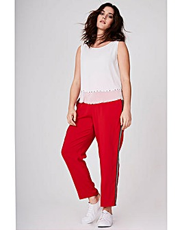 Elvi Trousers With Side Stripe