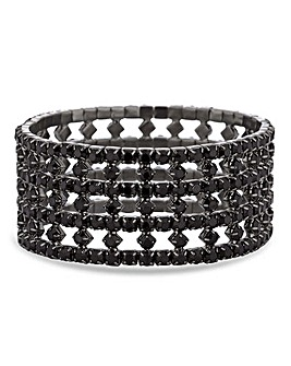 Jon Richard Diamante Stretch Bracelet