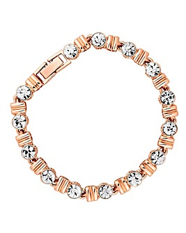Jon Richard Crystal Square Bracelet
