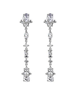 Jon Richard Crystal Droplet Earring