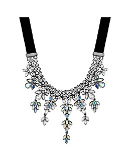 Mood Crystal Cluster Necklace