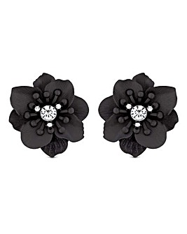Mood Layered Flower Stud Earring