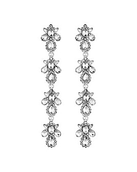 Mood Crystal Cluster Droplet Earring
