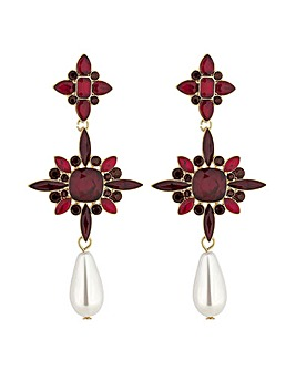 Mood Pearl Statement Drop Earring