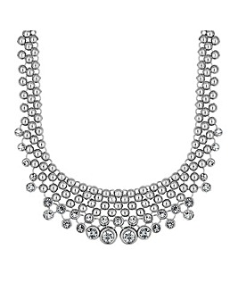 Mood Graduated Crystal Bib Necklace