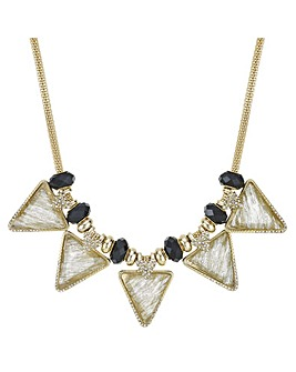 Mood Triangle Crystal Shimmer Necklace