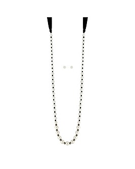 Mood Monochrome Pearl Jewellery Set