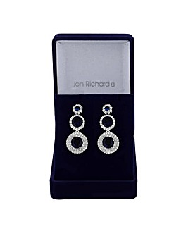 Jon Richard Graduated Circle Earring