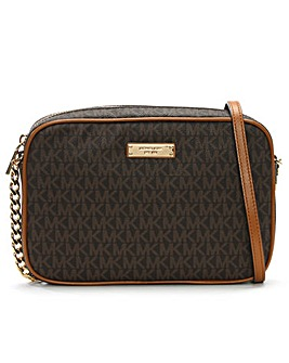 Michael Kors EW Patterned Cross-Body Bag