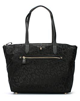 Michael Kors Leopard Print Tote Bag
