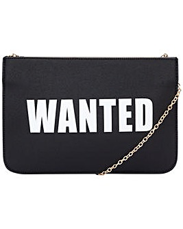 "Claudia Canova ""wanted"" Clutch"