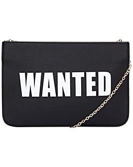 "Claudia Canova ""wanted"" Clutch"