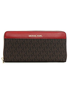 Michael Kors Logo Motif Pocket Wallet