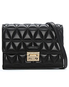 Michael Kors Quilted Leather Clutch Bag
