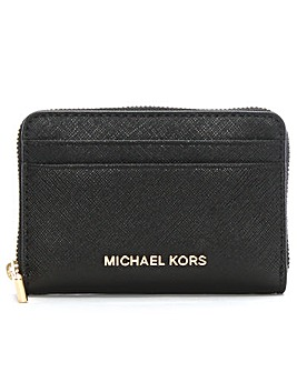 Michael Kors Saffiano Leather Card Case
